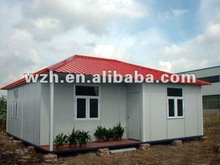 Chinese low cost construction site prefabricated house