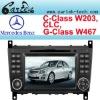 Car dvd radio Mercedes W203 (2004-2007)