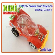 14Cm Non-toxic Car With Light Funny Toy Plastic Big For Candy
