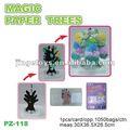 магия растущей бумага новогодняя елка для украшения праздника/подарки