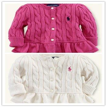 Peplum Cardigan Wholesale Kids Clothes