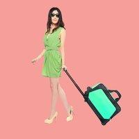 For hp laptop backpack travel bag