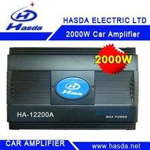 Cheap car amplifier , 2000w ,can choise 12V &24V