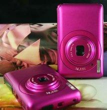 "WINAIT 2012 New hot sale mini cheap digital camera, 2.7"" 260k full Color TFT LCD 5.0 MP sensor Max 14.1Megapixels Effective pixe"