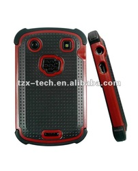 mobile phone case pc and silicone case for blackberry 9900-11