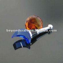 Fashion 2012 crystal wine bottle plug