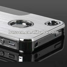 multi colors high quality aluminum hard back skin cover luxury aluminum steel chrome cover case