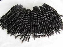 2012New Fashion cheap malaysian curly hair weft