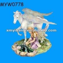 new fashion wholesale fairy figurines glen handmade resin fairy ornament