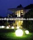 outdoor led solar flashing ball light