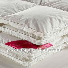 white double stitch down comforter