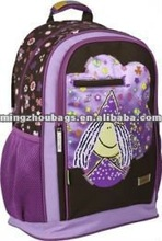 2012 Hot Kids Cartoon Picture Of School Bag For Girls