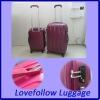 2012 ABS+PC 3 pcs set 20/28/28 eminent travel trolley TSA lock airplane match color travelmate kids fashion bag