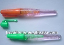 Lovely cute plastic Floating ball pen promotional CH-6113