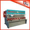 manual de hoja de metal de corte de la máquina