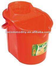 big size plastic mop bucket with handle