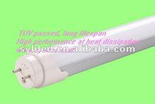 Europe market only TUV approved T8 LED tube lighting Energy saving & high performance