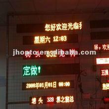 2012 new design PH10 bus sign board