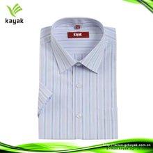 Fashion long sleeve latest stripe shirt designs for men 2012