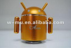 mini vibration robot speaker