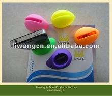 2012 Popular Cute&Portable Silicone Amplifier For iPhone 4/4S