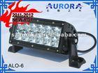 Motorcycle LED light, 6inch CREE Led light bar(AURORA Brand), off road mini motorcycle