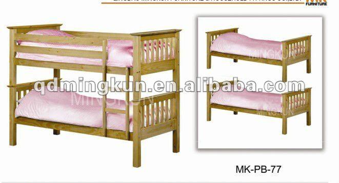 Literas de madera para los ni os camas identificaci n del - Literas ninos pequenos ...