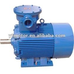 YB2 series three phase IEC standard explosion proof 400v three phase electric motor