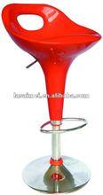 SM-1004 ABS plastic swivel adjustable bar chair