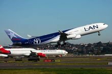 LA(Lan Airlines) to South America from China, the best price and the best service