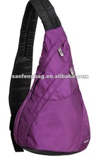 Single strap backpack chest pack