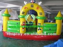2012 Cat paradise kids inflatable amusement park