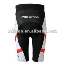 Silicon padding Cycling pants /bicycle shorts / reflective logo bike shorts