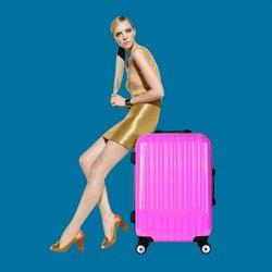 Hotel luggage trolley