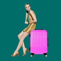 Old style luggage