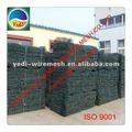 Fabbrica prezzo più basso!!! Gabbione boxs/filo gabbione gabbia di roccia della parete/pietra gabbia metallica muro di roccia ( 86-15831120981 yedi )