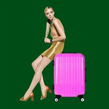 Polka dot luggage wholesale