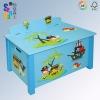 2012 New Design! 'Pirate' Wooden Kid Toy Box