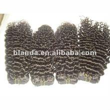 high quality 2012 new arrival 100% vrigin peruvian hair weft