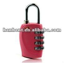 TSA pink combination lock