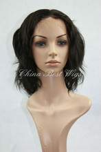 malaysian virgin hair textured bob wigs