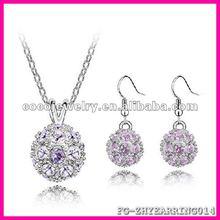 2012 yiwu latest rhinestone crystal earring tear earring models