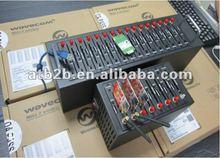 16 channels sms gateway usb modem sim card advertising equipment