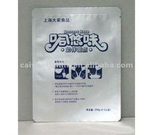 milk bag with milk design aluminum foil vaccum milk pouch with tear tabs