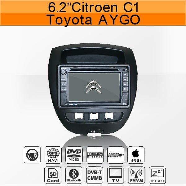 c1 toyota aygo peugeot 107 car gps navigation   buy citroen c1 car