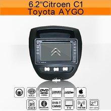 Citroen C1/Toyota AYGO/Peugeot 107 car gps navigation