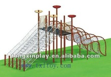 TUV approval playground outdoor climbing frames TX-138A 2012 new style fitness equipment