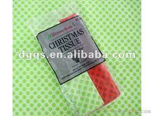 17g chrismas printed tissue paper f