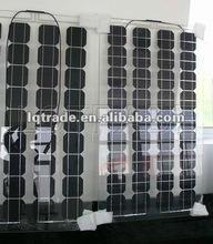 80W Transparent BIPV Solar Panel