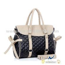 Fashion Checkered Handbags Grid Bags